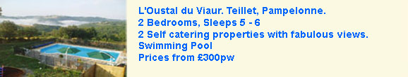 2 self catering gites with pool